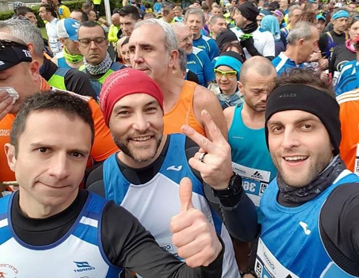 Atletica San Costantino in trasferta a Napoli, buone prestazioni nella mezza maratona