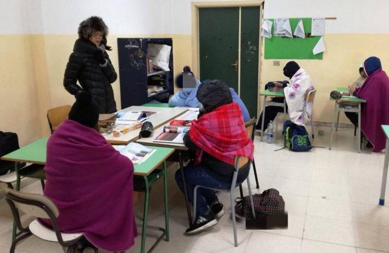 Aule al freddo da novembre, niente lezioni per gli alunni della Media di Tropea