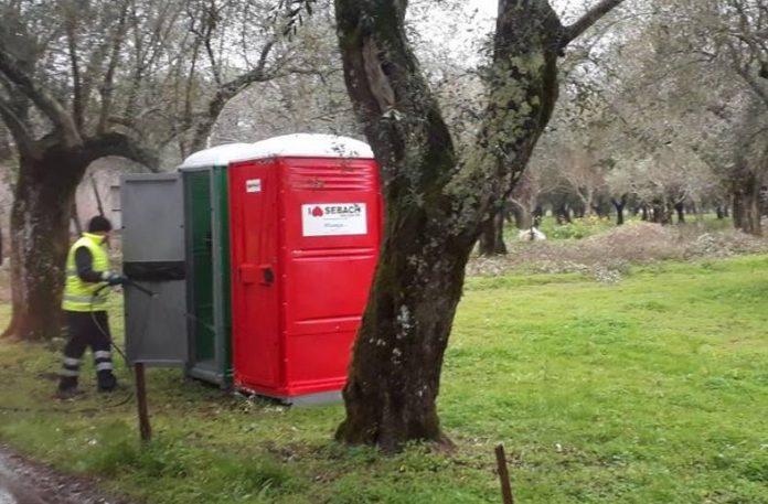 I due bagni rubati a San Costantino Calabro