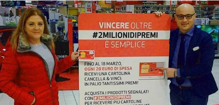 #2Milionidipremi, sbarca anche in Calabria il concorso Coop