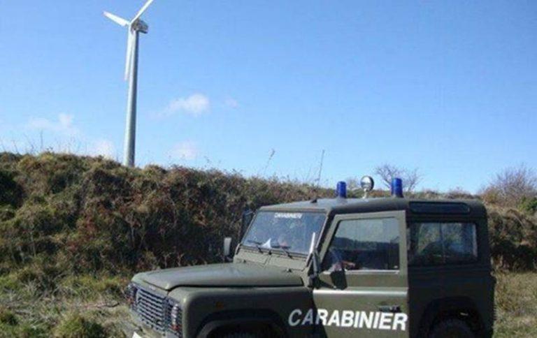 Impianto eolico sequestrato a Montepaone, coinvolte due ditte di Vibo