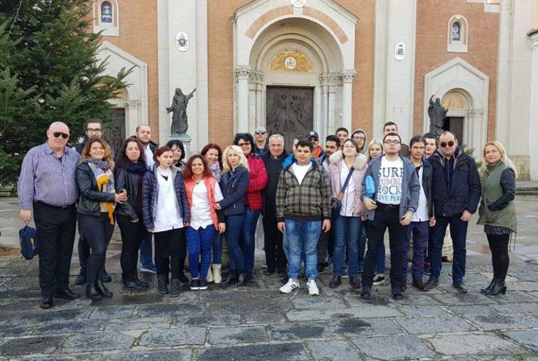 """Mileto saluta gli studenti disabili ospitati per il progetto """"Erasmus plus"""""""