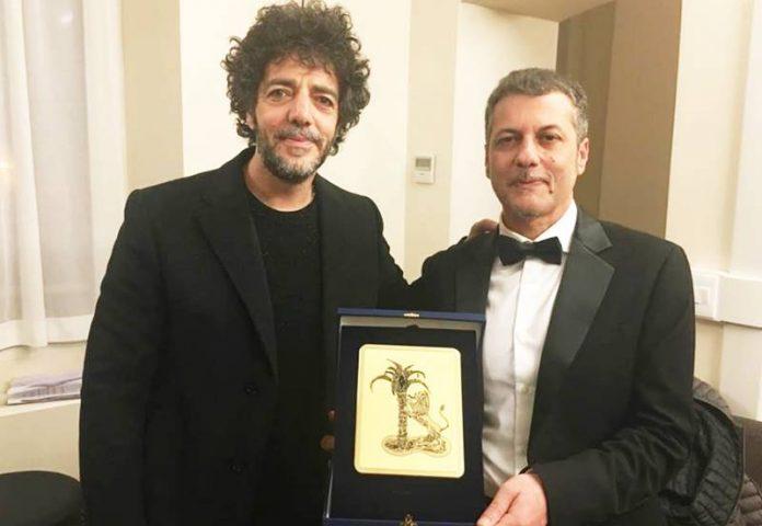 Sanremo, il maestro Ferrari con Max Gazzè