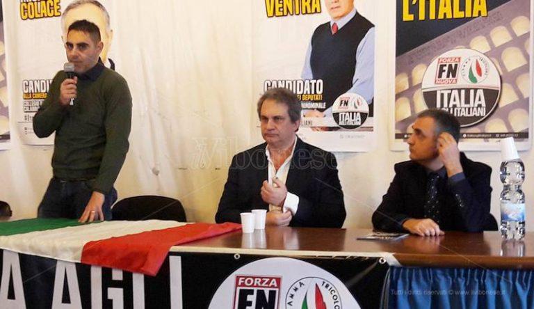 Politiche 2018   Roberto Fiore a Vibo: «In Italia un milione e mezzo di migranti da espellere» (VIDEO)