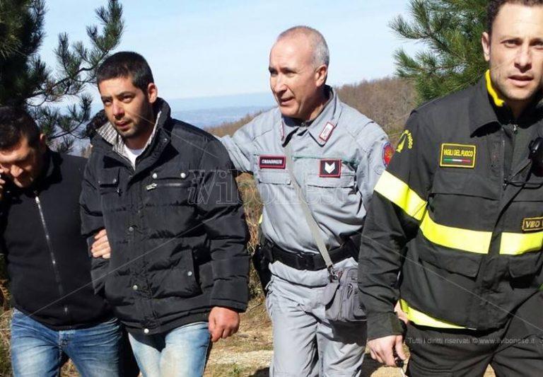Trentenne scomparso da Arena, Barilaro ritrovato in un bosco: sta bene