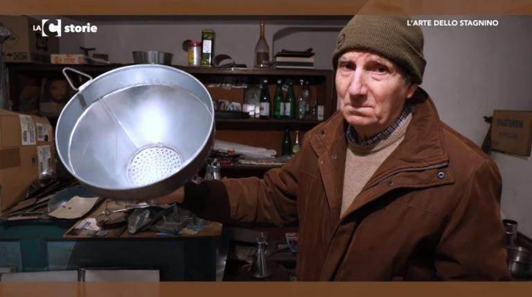 Artigianato e tradizione: Rocco Lico, l'ultimo stagnino di Pizzo (VIDEO)