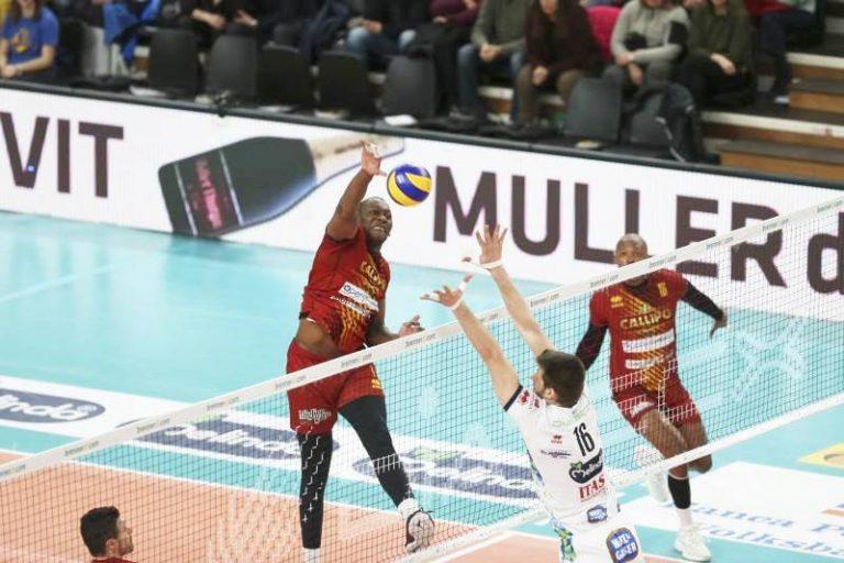 Superlega, a Trento ventesima sconfitta per la Tonno Callipo Vibo