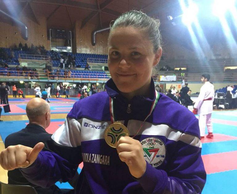 Karate, Viola Zangara qualificata alla finale del campionato italiano