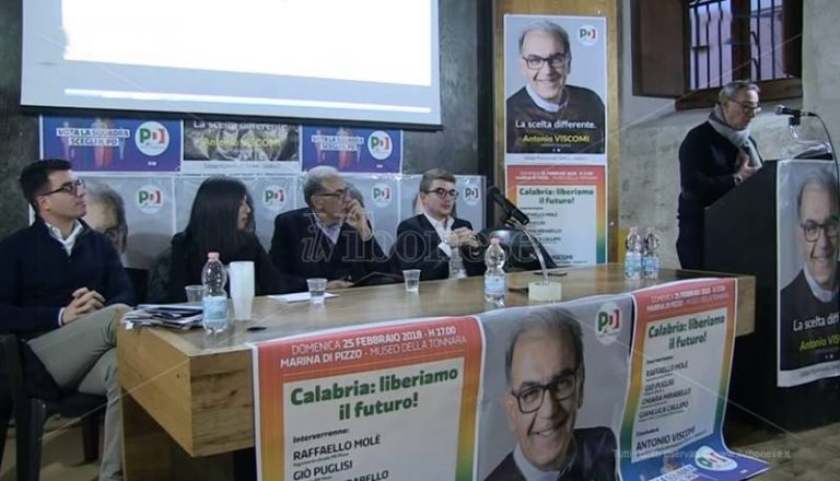 Politiche 2018 | Antonio Viscomi si presenta agli elettori di Pizzo (VIDEO)