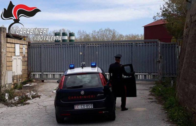 Filandari, i carabinieri sventano furto di materiale e mettono in fuga i ladri
