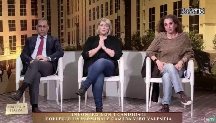 I tre candidati Censore, Nesci e Ferro
