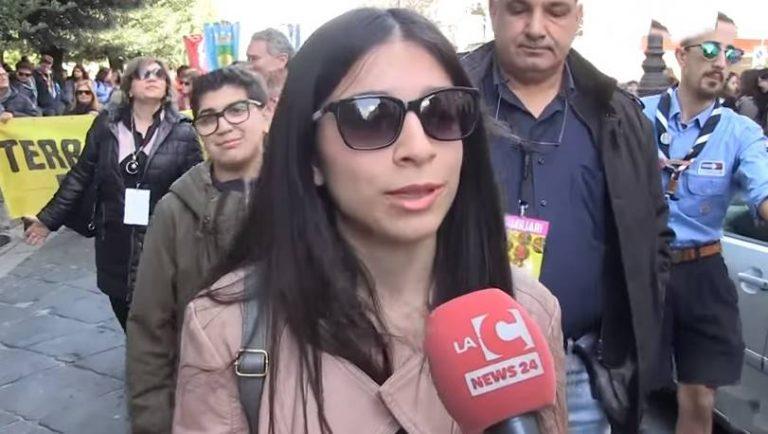 """""""Donne da sterminare"""", la figlia di Maria Chindamo a Vibo: «Frase che mi ha fatto male» (VIDEO)"""
