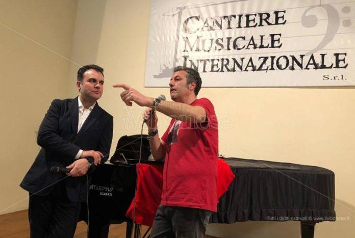 Roberto Giordano e Clemente Ferrari a Mileto