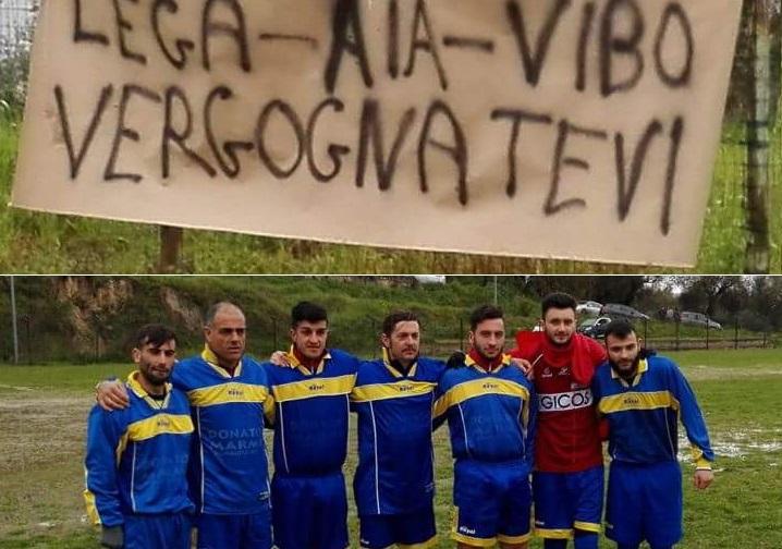 Calcio da guinnes nel Vibonese, in Terza categoria una partita finisce 33-8