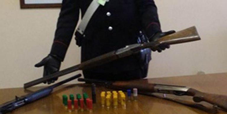 Omessa custodia di armi e munizioni, una denuncia dei carabinieri nel Vibonese