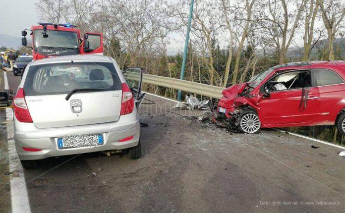 L'incidente avvenuto nel territorio di Pizzo