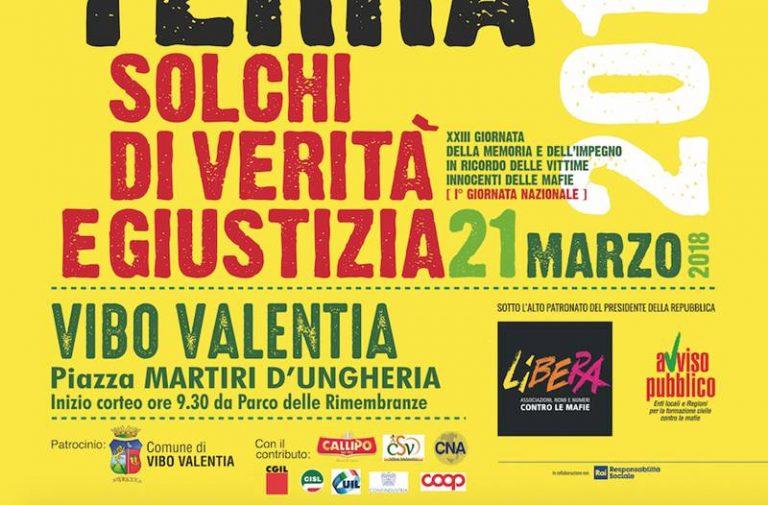 Libera Vibo si prepara al 21 marzo, in programma iniziative e cineforum