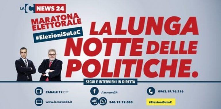 Politiche 2018 | Segui la diretta della maratona elettorale di LaC Tv (VIDEO)