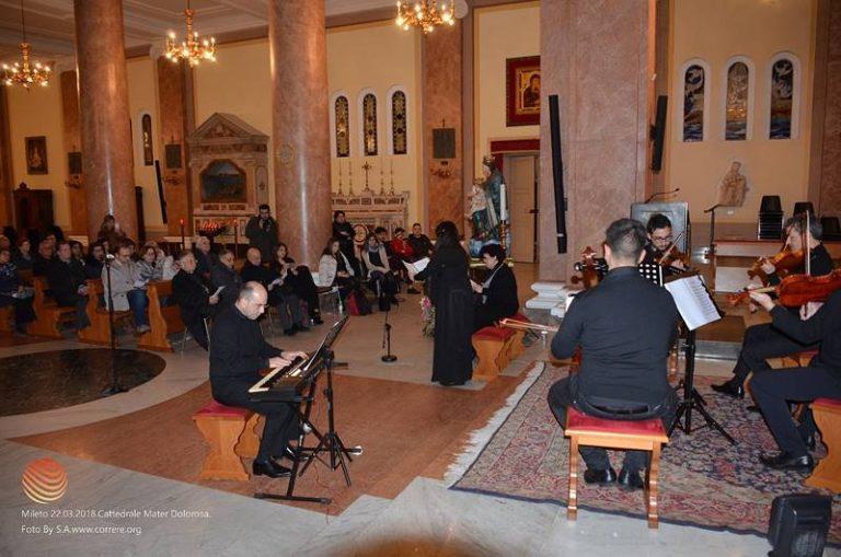 """Applausi a Mileto per la """"Mater dolorosa"""" del Cantiere musicale internazionale"""