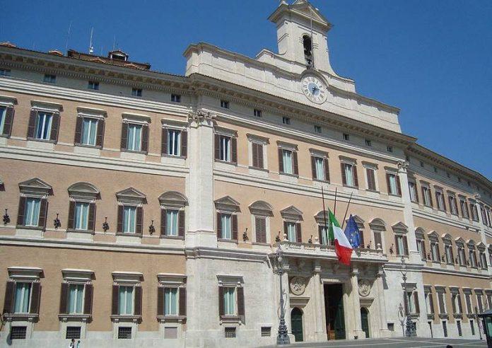Montecitorio, sede della Camera dei deputati