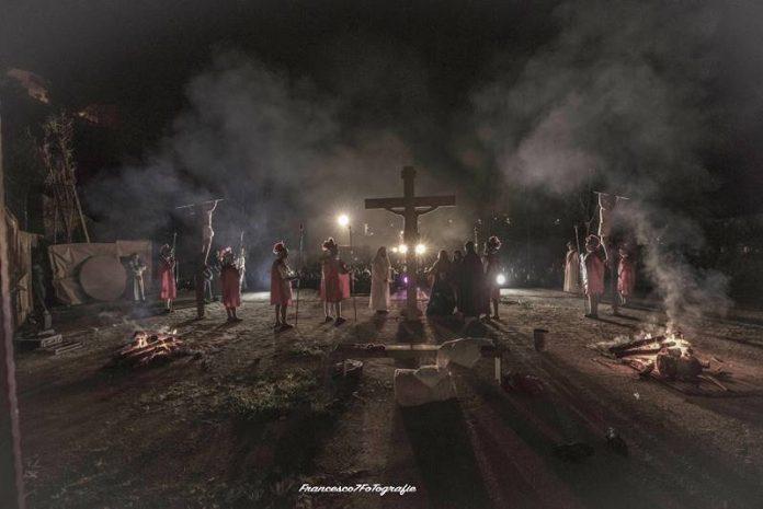 """La """"Passio Christi"""" di Dinami (Foto Francesco Sette)"""