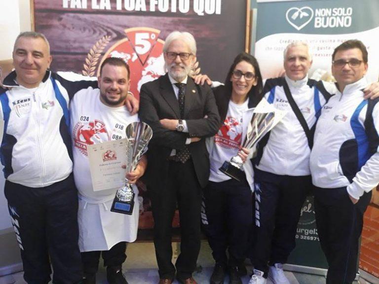 Campionato mondiale di pizza al fungo: vittoria per i vibonesi Francesco Fortuna e Irene Malfarà