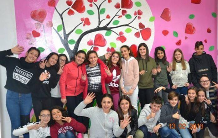 Gli alunni dell'Ic di Rombiolo-San Calogero