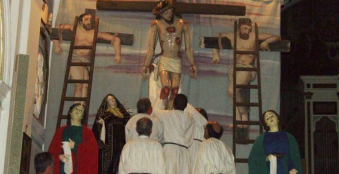 La deposizione del corpo di Cristo ed i riti della Pasqua nel Vibonese