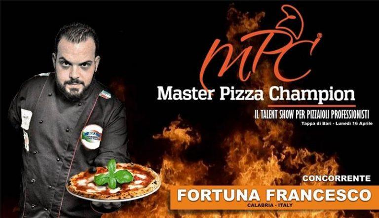 Master Pizza Champion: a rappresentare la Calabria sarà il vibonese Francesco Fortuna