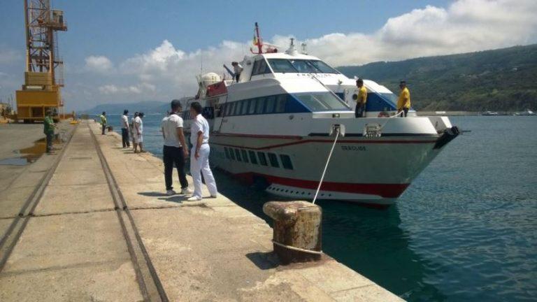 Aliscafo per le Eolie, attivato il bus-navetta al porto di Vibo Marina