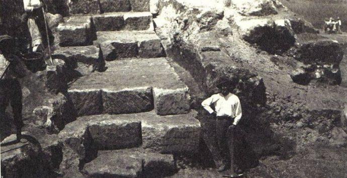 Per millenni Pizzo è stata costruita con blocchi di arenaria su cui sorge la città
