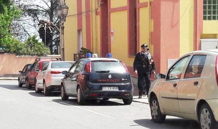 I carabinieri al Comune di Sant'Onofrio questa mattina