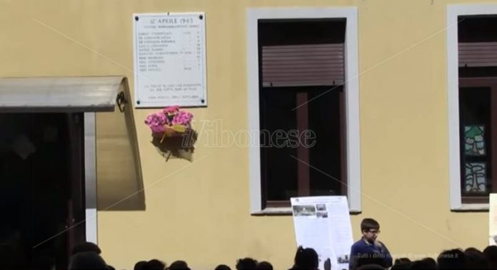 La commemorazione alla scuola Presterà