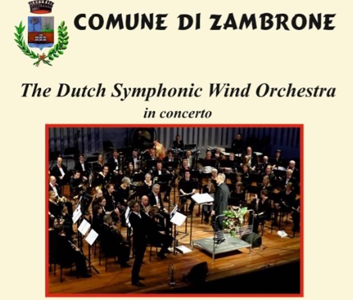 Zambrone festeggia l'istituzione del Comune con un concerto sinfonico in piazza