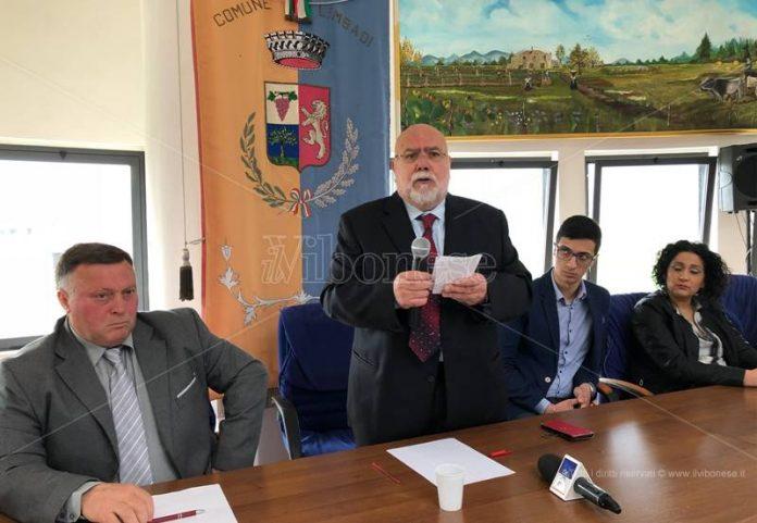 L'intervento del sindaco Morello