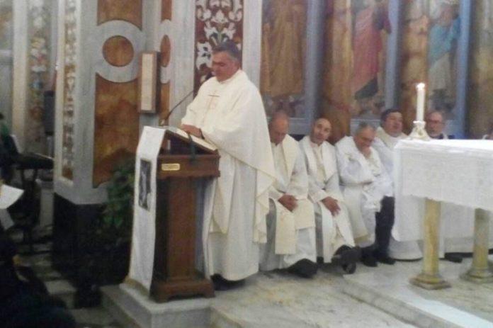 La messa per i 25 anni di don Salvatore Santaguida