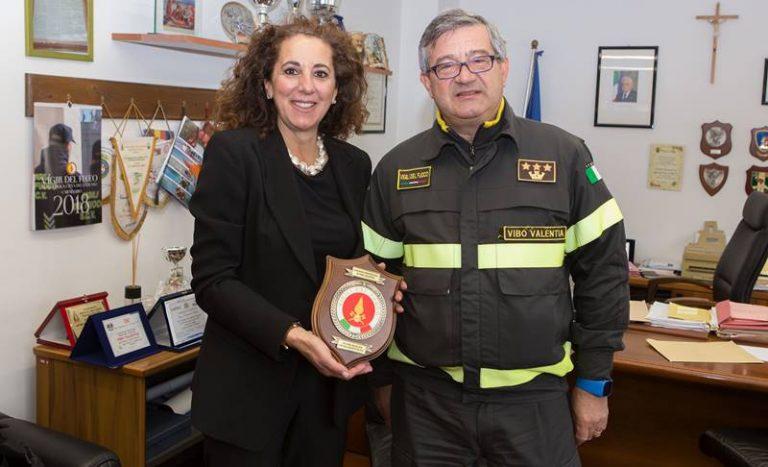Distaccamento Vigili del fuoco a Ricadi, Wanda Ferro a sostegno della proposta
