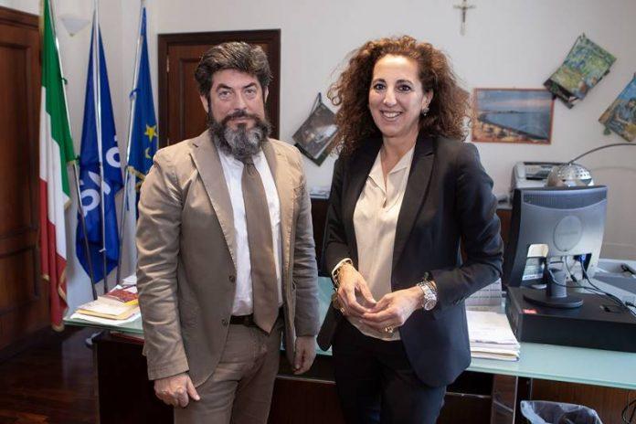 Wanda Ferro con Giuseppe Ferrara