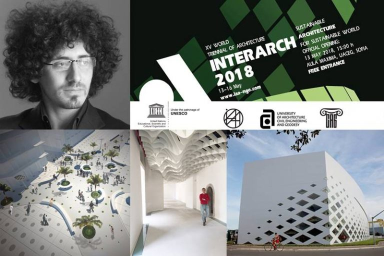 L'architetto vibonese Francesco Schiavello alla Triennale di architettura di Sofia