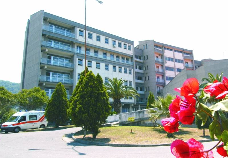 L'ospedale di Tropea (foto Libertino)