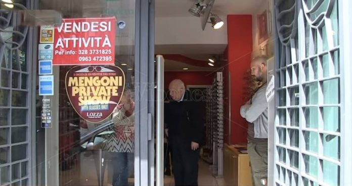 Il negozio di Ruello in vendita