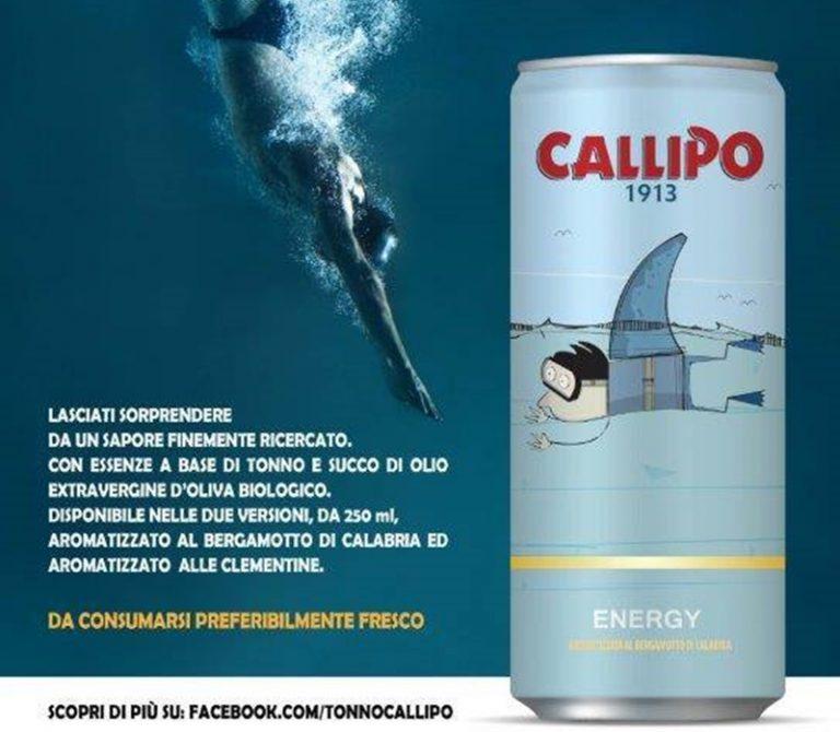 Arriva la prima bevanda al gusto di tonno… ma era un Pesce d'aprile