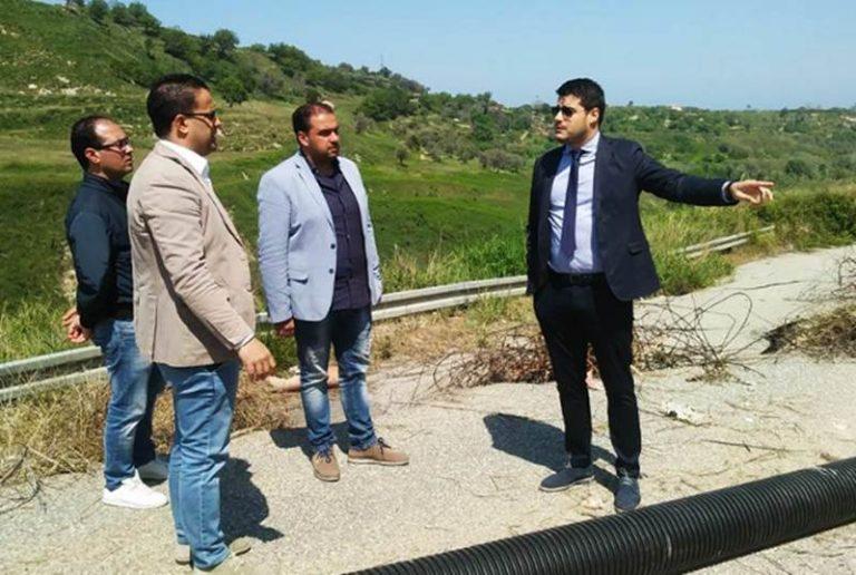 Emergenza viabilità a Cessaniti: sopralluogo di Riccardo Tucci (M5s)