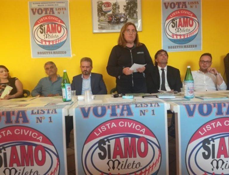 Comunali a Mileto: la candidata a sindaco Mazzeo presenta la lista