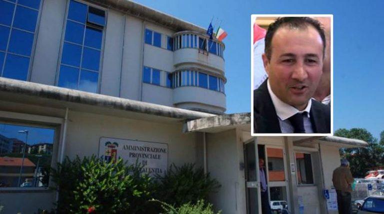 Provincia di Vibo Valentia: Andrea Niglia decade da presidente