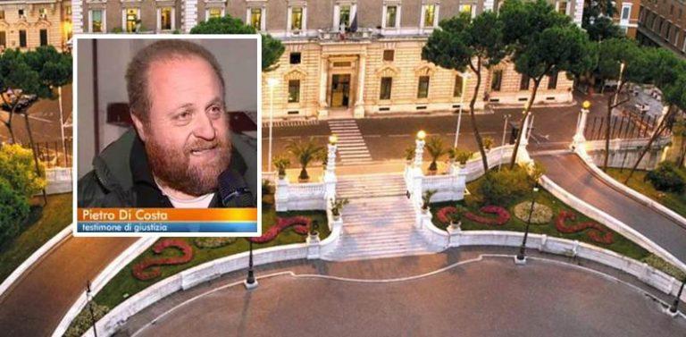 Revoca elargizioni a testimone di giustizia vibonese, inammissibile per il Tar il ricorso di Pietro Di Costa