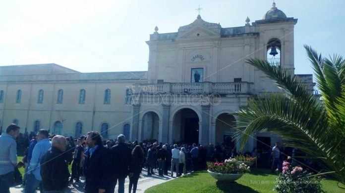 I funerali di Michele Valerioti a Nicotera