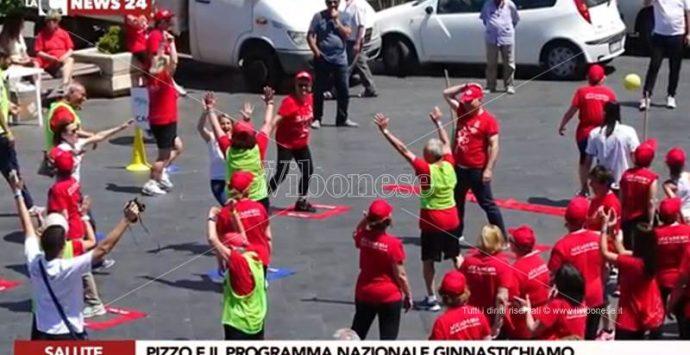 """Sport e terza età, a Pizzo """"GinnastichiAmo"""" (VIDEO)"""