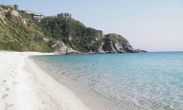 Un tratto del litorale vibonese