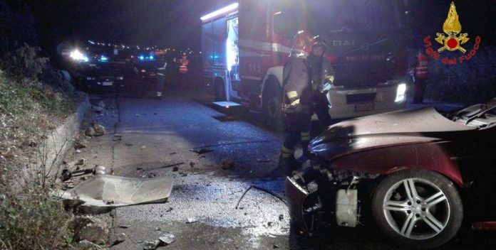 Incidente stradale a Filandari